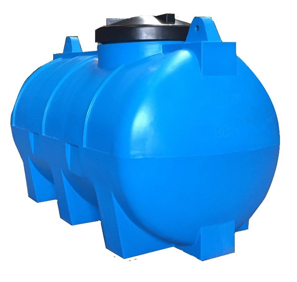Horizontale watertank